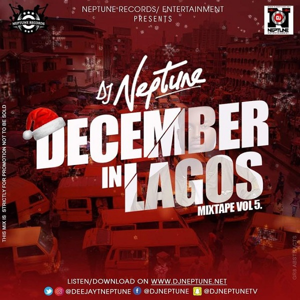 dj neptune december in lagos vol 5 mixtape