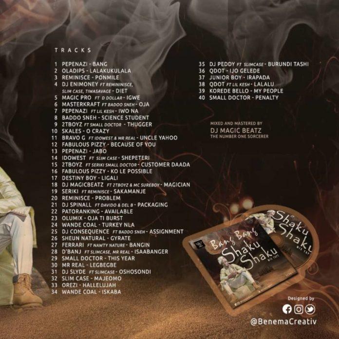 shaku shaku bang bang hip hop mixtape 2018