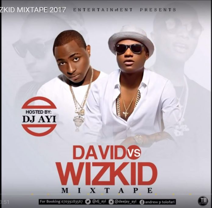best of davido vs wizkid mix